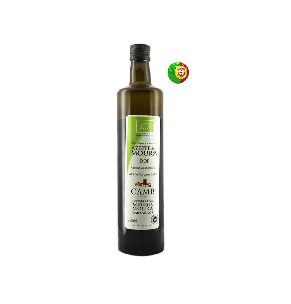 Extra-virgin olive oil Organic, Olive Oil from Moura (CAMB), 750ml.