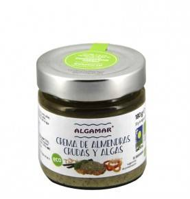 Raw almond cream with seaweed, 180 gr.
