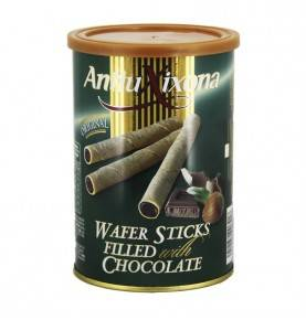Chocolate wafer biscuit can 200g, Antiu Xixona