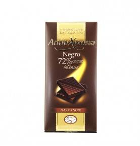 72% Dark chocolate bar, 100g, Antiu-Xixona