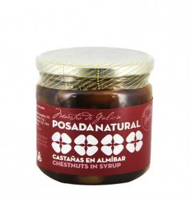 Candied chestnuts in syrup, 240g Posada