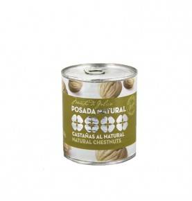 Whole boiled chestnuts, 250g Posada