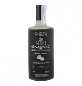 Coffee liqueur from Galician, Porta do Miño, 70cl.