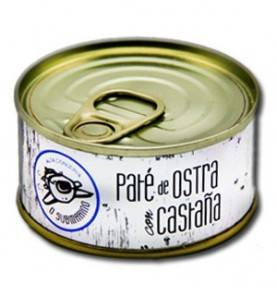 Oyster and chestnut paste, O Submarino, 85 gr.