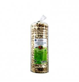 Organic Rice Cakes  with Cereals and Seaweed