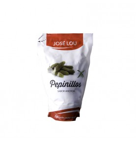 Anchovy-flavoured gherkins, 180 grs., José Lou