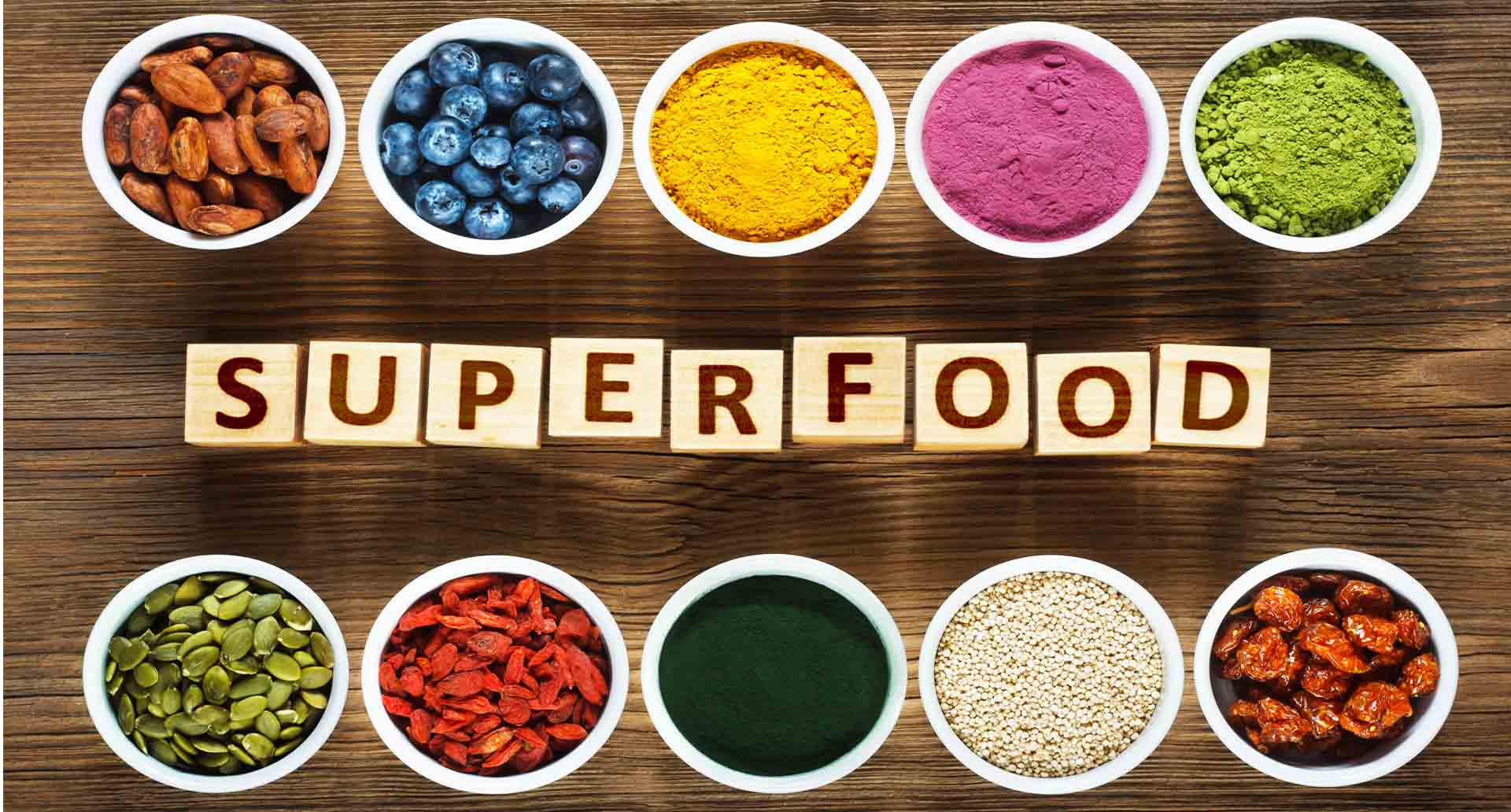 Superfoods, SuperAlimentos